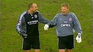 Kahn gegen FC Schalke 04   DFB Pokal 2002
