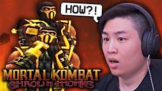 SCORPION Fighting ... SCORPION in The STORY ?! [Monaci Shaolin di Mortal Kombat]