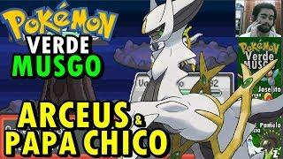 Pokémon Verde Musgo (Detonado - Parte 63) - Arceus e O Papa Léon Chico