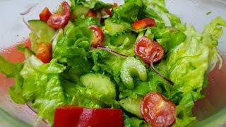 Лёгкий постно - диетический салатик, 🥦😋цыганка готовит. Gipsy cuisine.