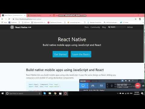 react native crash course | Nikkies Tutorials