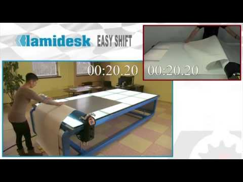 Lamidesk Easy Shift compare work with no motor-driven roller