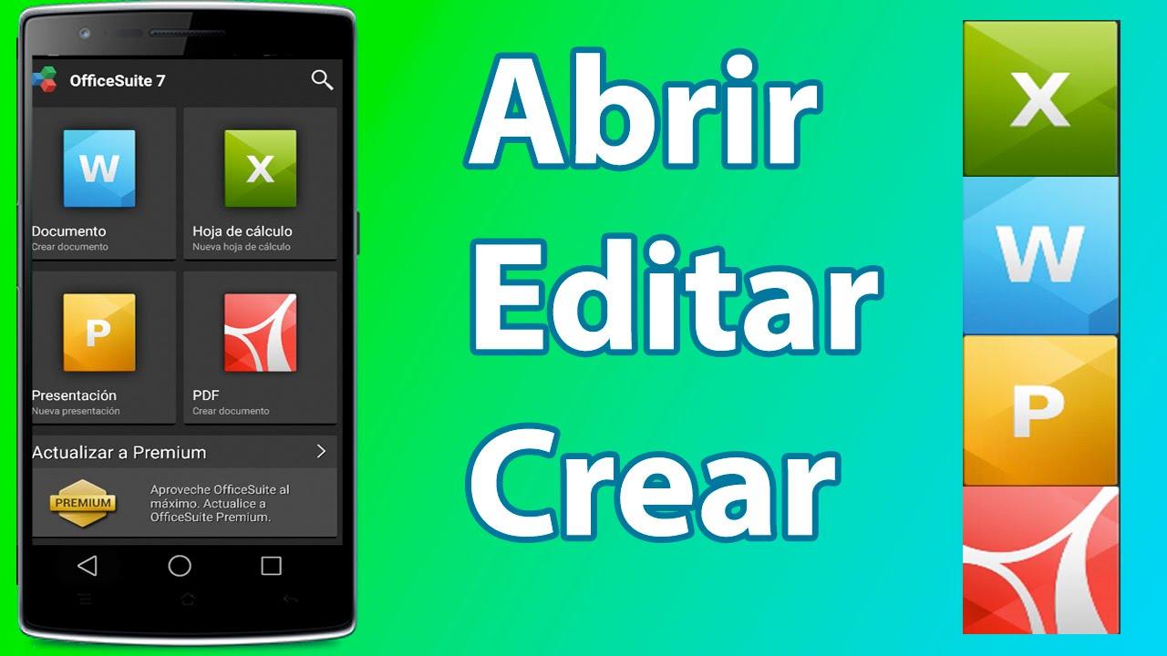 Abrir, Editar y Crear | Documentos, PDF, PowerPoint y Hojas de ...