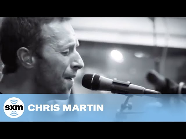 Chris Martin of Coldplay O // Alt Nation // SiriusXM