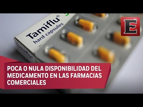 Escasea en la CDMX el Tamiflu, medicamento contra la influenza