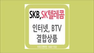 SKB,SK텔레콤 인터넷 TV 결합상품 가입요금, 할인…