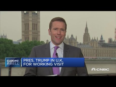 Trump reaffirms free trade with Theresa May after Sun interview