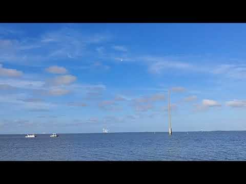 Falcon Heavy Rocket Launch From Port Canaveral