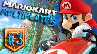 Mario Kart 8 Multiplayer - Balloon Battle #3 - (Nintendo Wii U Walkthrough)