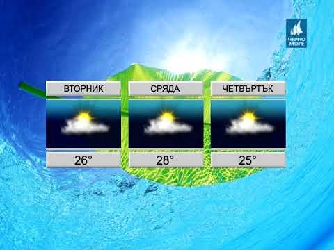 ТВ Черно море - Прогноза за времето 18.09.2017 г.