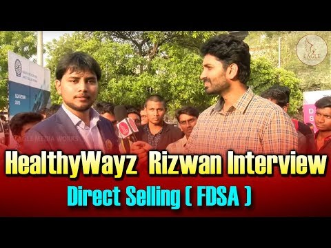 Healthy Wayz MD Rizwan Interview about Direct Selling | FDSA Thanks Giving | Eagle Media Works