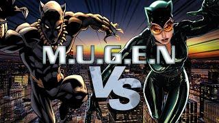 MUGEN: Black Panther vs Catwoman