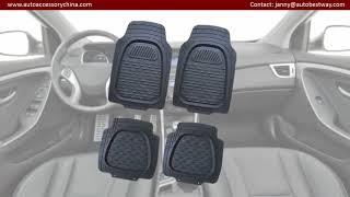 New car floor mats
