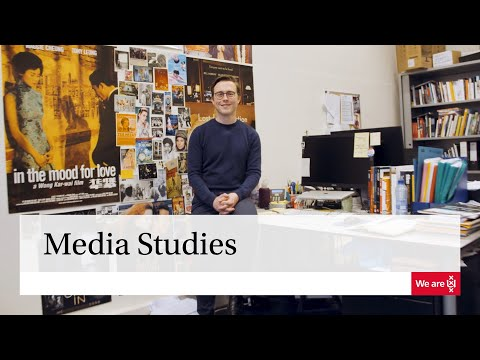 Master | Media Studies April 2018 | University Of Amsterdam
