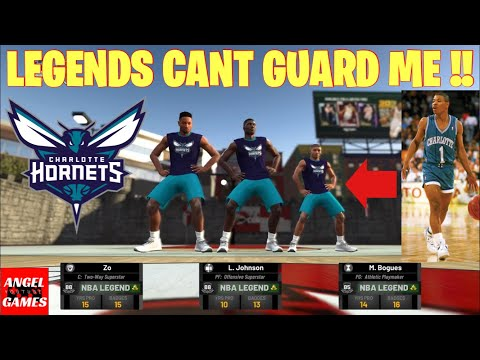 DROPPING OFF NBA LEGENDS *INTENSE*- NBA 2K19 PARK