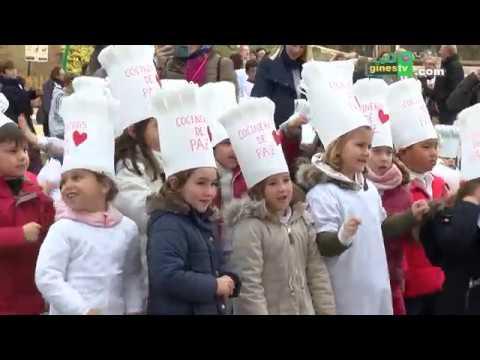 Más de 1.400 alumnos y alumnas celebran en Gines el Día de la Paz
