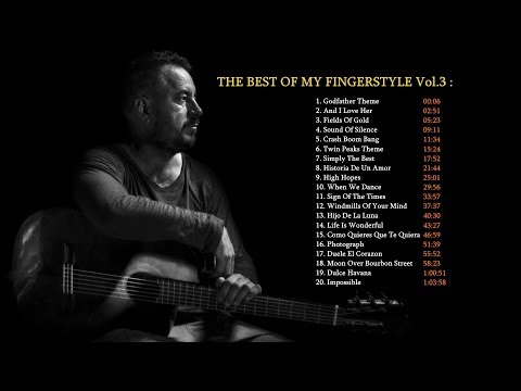 THE BEST OF MY FINGERSTYLE GUITAR ARRANGEMENTS - Volume 3