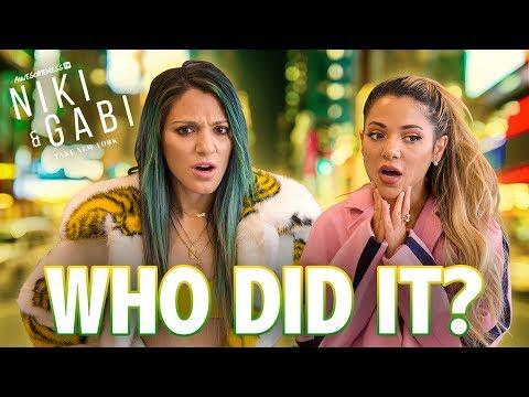 THIEF IN THE HOUSE | Niki and Gabi Take New York S3 EP 2