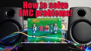 How to solve EMC problems! || The mystery of the buzzing speaker