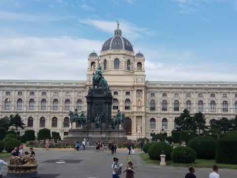 Zwiedzanie Wiednia - Visiting Vienna - 23.07.2017