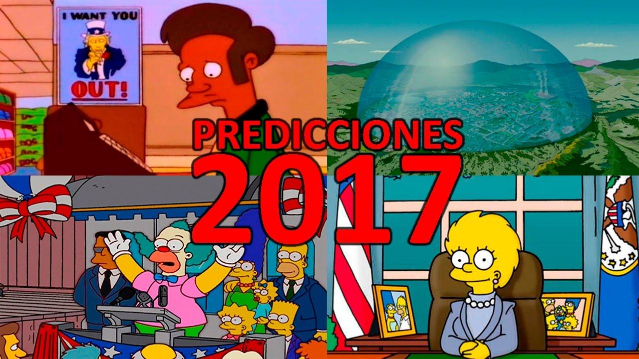 7 Predicciones De Los Simpsons Para 2017 Doovi