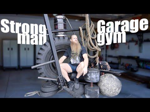 Building A STRONGMAN GARAGE GYM