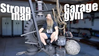 Building A STRONGMAN GARAGE GYM