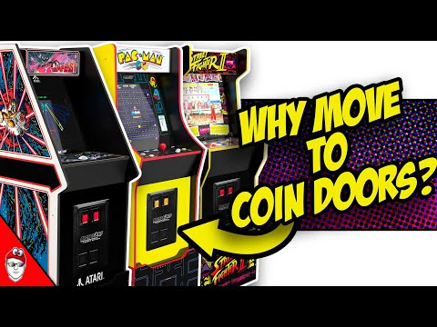 Arcade1Up - New Coin Doors Reveals Future Roadmap Plans from Console Kits