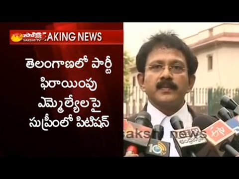 Congress MLA Sampath Kumar Petition Filed in Supreme Court Over MLAs Shift To TRS