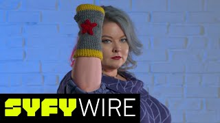 Make These Wonder Woman Arm Warmers | SYFY WIRE