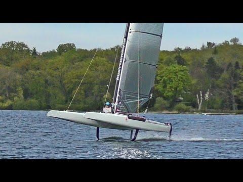Foiling Catamaran A-Cat Regatta Ammersee Ammercat 2017