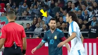 Look At What Happened Between Lionel Messi & Edinson Cavani | Mrmatador