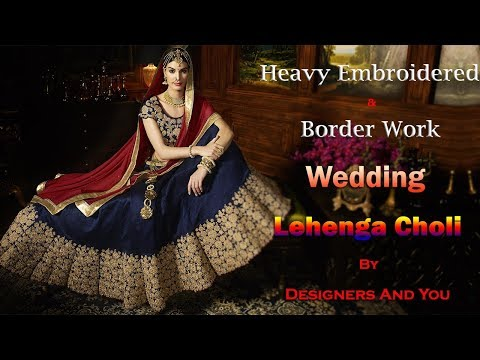 image of Wedding Lehenga Sarees youtube video 2