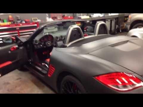 Porsche Sinister Edition Final Assembly Phase Porsche 987 Boxster Custom Car Build Log Day 15