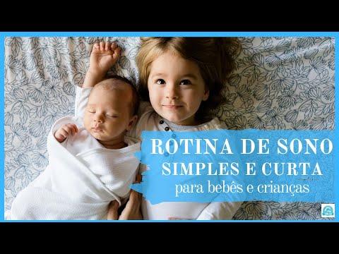 Rotina de Sono Simples para Bebês e Crianças