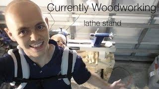 Lathe Stand Setup