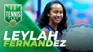 Entrevista Leylah Fernandez 🎾 Tennis Plus 🏆