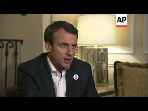 French economy minister comments on moves to kickstart the French economy