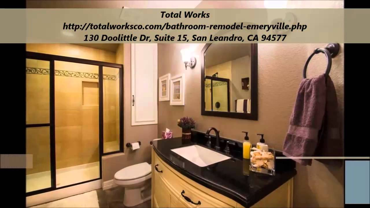 Total works bathroom remodel emeryville youtube for Youtube bathroom remodel