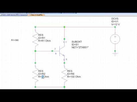 EENG26000 Electronics 2 - Large Signal Amplifier Lab - Part 1 Class A