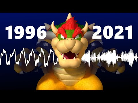 Why doesn't Bowser's voice sound like it used to?
