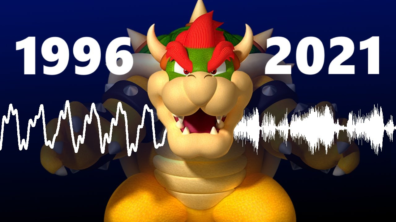 Download Why doesn't Bowser's voice sound like it used to?