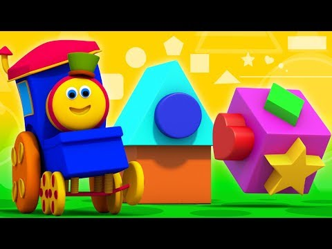 Street Shapes | Sight Words | Learning Street With Bob The Train | Videos For Babies by Kids Tv