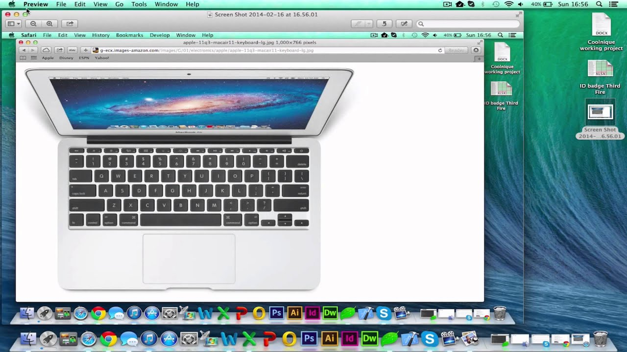 Print Screen On Apple Mac Os X [hd][how To][tutorial][guide] 2017
