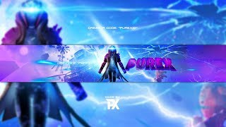 Fortnite Infinity Banner Speedart + FREE TEMPLATE - By Purex