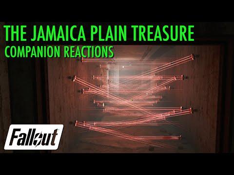 Companion Reactions, Jamaica Plain Treasure - Fallout 4