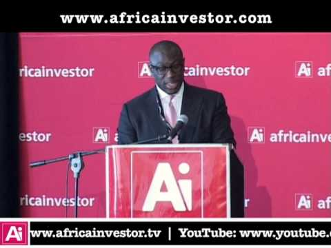 Hubert Danso, CEO, Africa investor, at the Ai CEO Infrastructure Investment Summit 2013