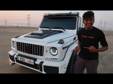 Driving My Dream Car In Dubai Desert ( g63 brabus)
