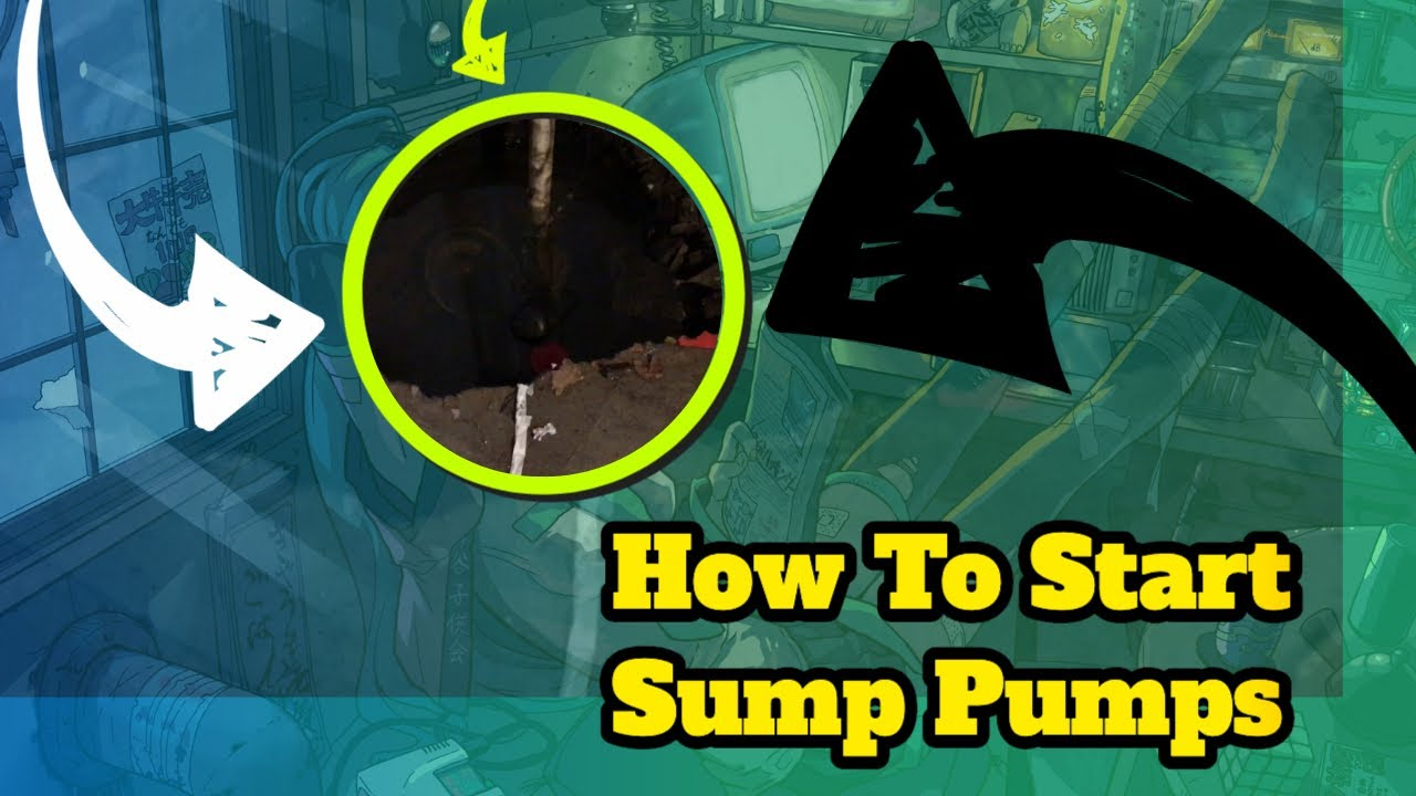 How To Start Sump Pump Manually