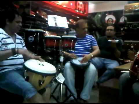 Djambe Solo SHYAM EDWANKAR & MILIND WANKHEDE ON AREBIC Groove